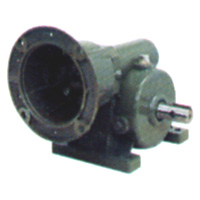 Worm gear speed reducer in inch dimension